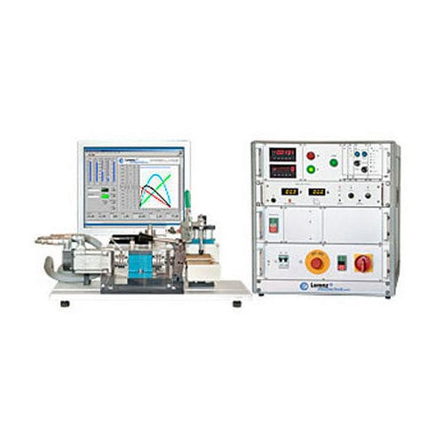 Multi-parameter test bench / low-voltage DC motor Lorenz Messtechnik
