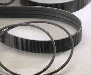 trapezoidal transmission belt / polyurethane
