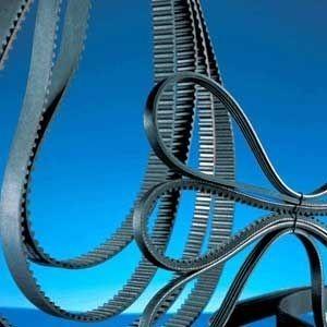 ribbed transmission belt / rubber