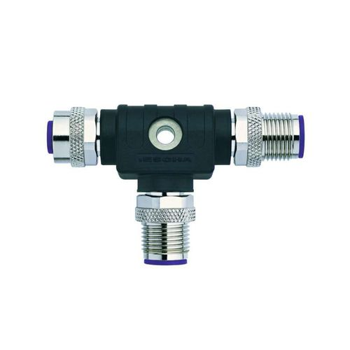 T connector / data / DIN / screw coupling