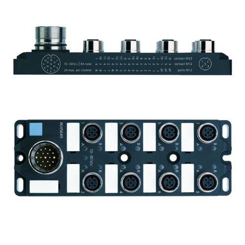 analog I/O module / 8 PNP outputs / IP65