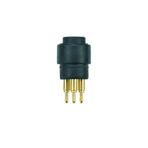panel-mount connector / data / DIN / circular