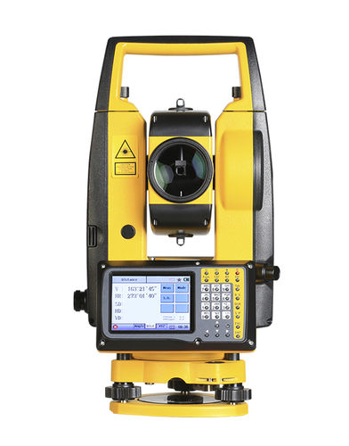 reflectorless total station / automatic / waterproof / wireless
