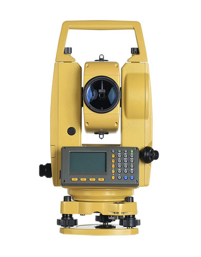 total station with prism / manual / waterproof