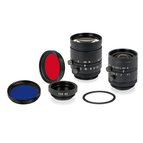 Zoom camera objective / varifocal / rugged / machine vision di-soric