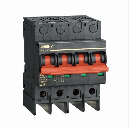 thermal circuit breaker / short-circuit / modular / miniature