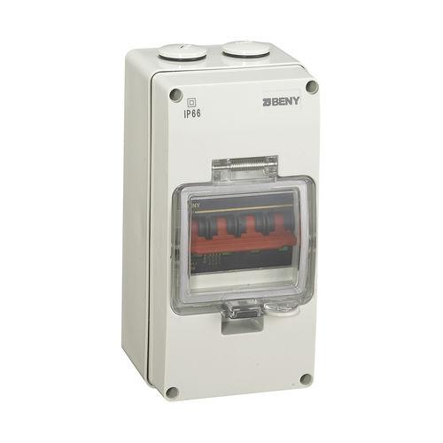 DC circuit breaker / manual reset / IP66 / mini