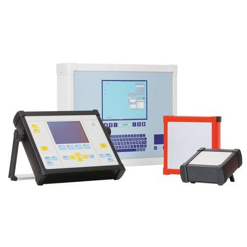 IP65 enclosure / rectangular / aluminum profile / for electronics