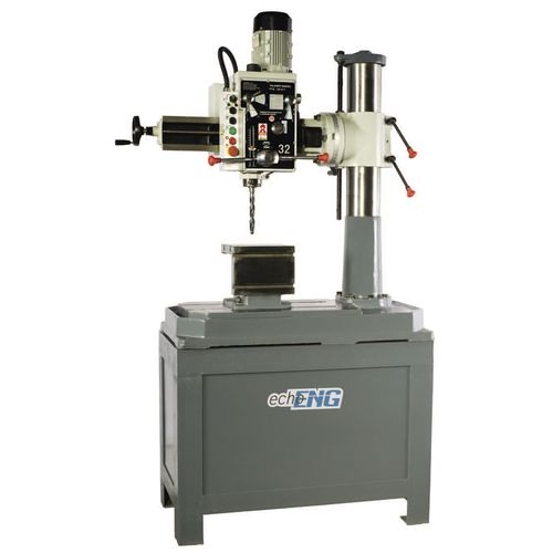 radial drilling machine / single-spindle