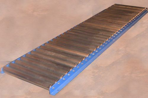 roller conveyor / for the food industry / for the pharmaceutical industry / for drums