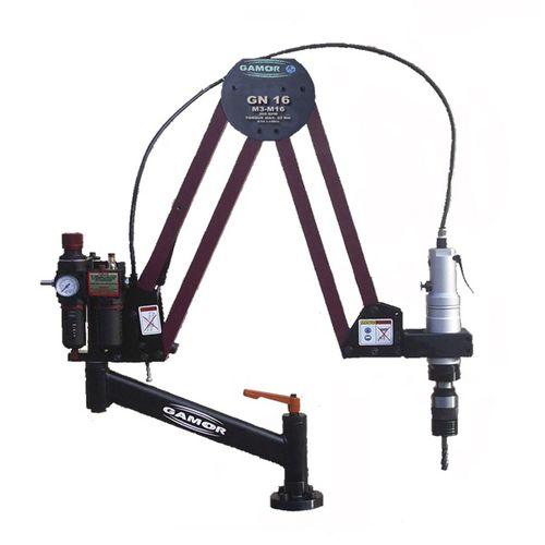 Swing-arm tapping machine / pneumatic GN16 M3-M16 GAMOR