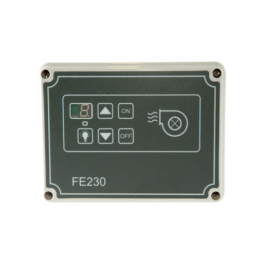 digital speed regulator / for induction motors / single-phase