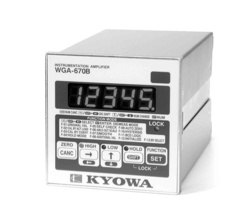 signal amplifier / measuring / high-speed / compact