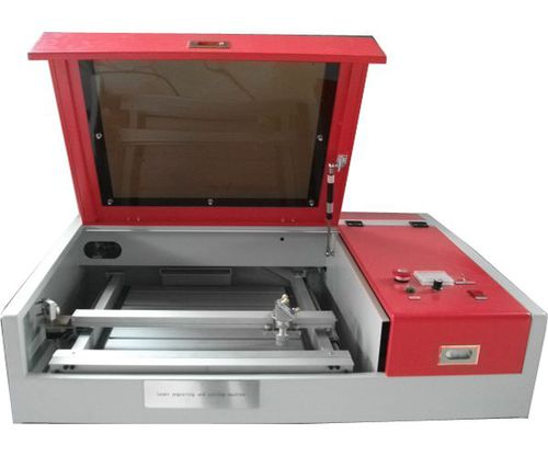 laser engraving machine / for glass