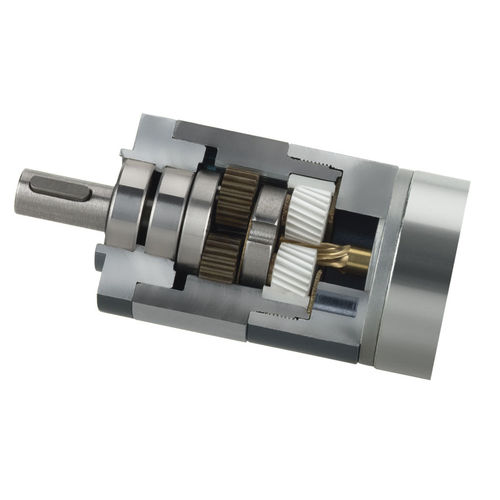 DC gearmotor / coaxial / planetary / helical MR 752 52 HE series BERNIO ELETTROMECCANICA