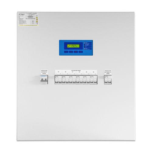 central battery system / for emergency lighting