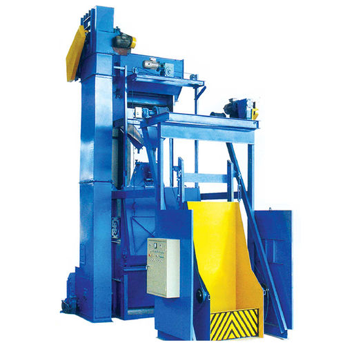 belt shot blasting machine / for bulk materials