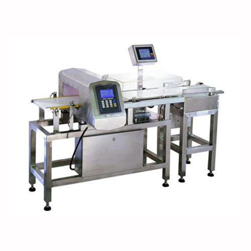 tunnel type metal detector / checkweigher / with conveyor