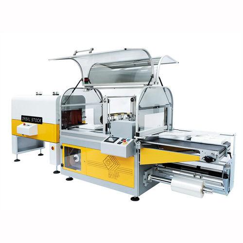 shrink packer side-sealer / automatic / servo-driven / for food
