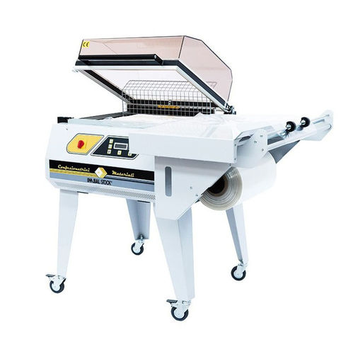 manual L-sealer / shrink packer