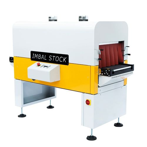 gas shrink tunnel / electric / for heat-shrink sleeves / large-format