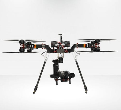 octocopter UAV / monitoring / mapping / observation