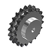 Straight-toothed sprocket wheel / tempered / double / roller chain idler Pig. S. xxB-1 series BEA Ingranaggi