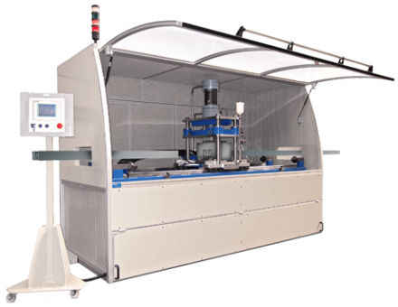 flying cut-off machine / for metal / CNC / automatic