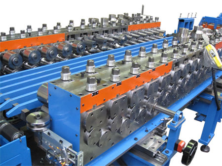 profile roll forming machine / quick-change