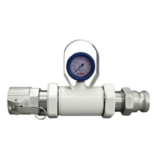 Pressure gauge in-line seal DN25, DN32, DN50, max. 70 bar | RDM series AKO ARMATUREN