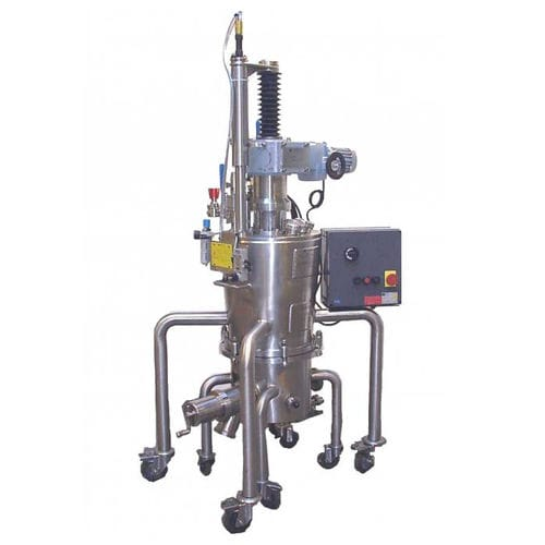 pilot plant filter-dryer / for air / Nutsche / chemical