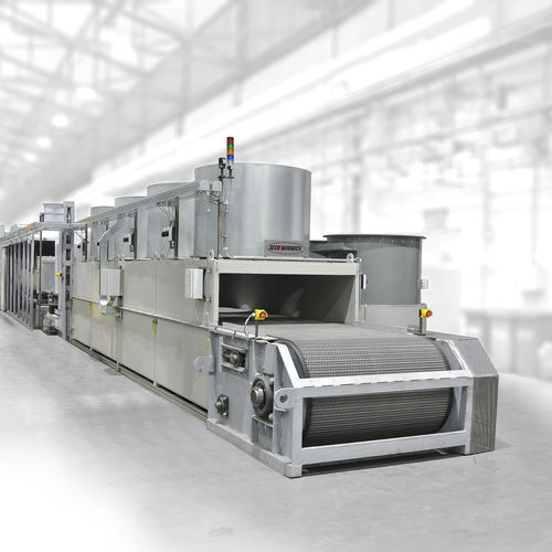 brazing furnace / controlled atmosphere / for aluminum