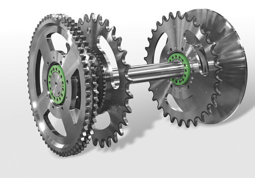 all-in-one chain transmission / with sprocket wheel