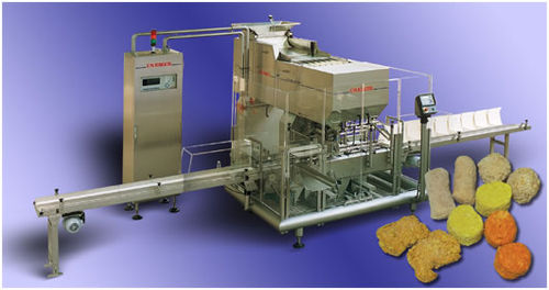 Vertical counting machine and cartoner / for the food industry / continuous-motion TQ Cremer speciaalmachines BV