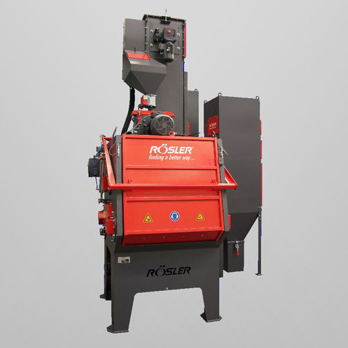 belt shot blasting machine / for metal / automatic