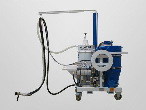 manual shot blasting machine / for aeronautical applications / mobile