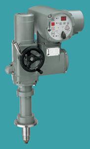 Linear valve actuator / electric 7 - 200 kN, 25 - 500 mm Centork