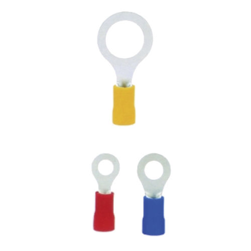 compression solderless terminal / ring / tubular / nylon-insulated