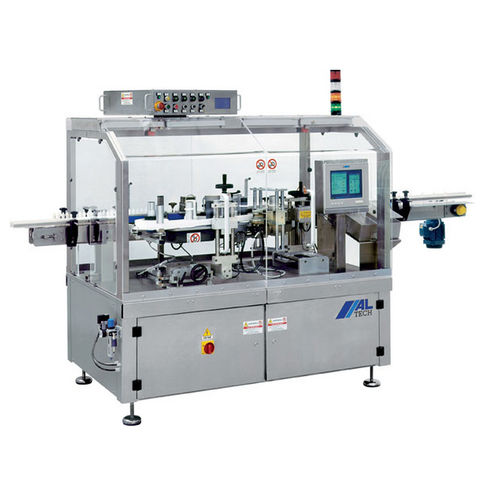 automatic labeler / top / linear array / wrap-around