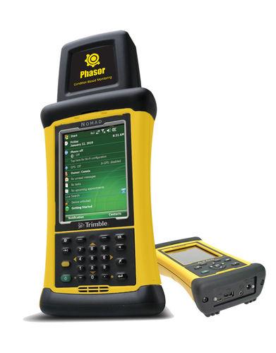 predictive maintenance vibration analyzer / FFT / with data logger / portable