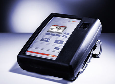 CO2 concentration meter / process / for harsh environments / portable