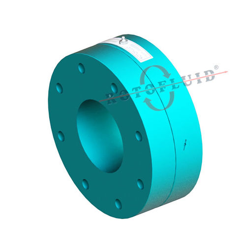 flange fitting / straight / hydraulic / steel