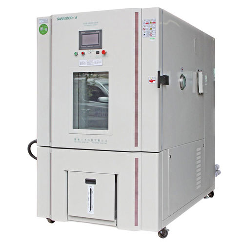 environmental stress screening test chamber / with window / automatic / for rapid temperature cycling