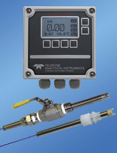 conductivity multi-parameter transmitter / ORP / dissolved oxygen / digital