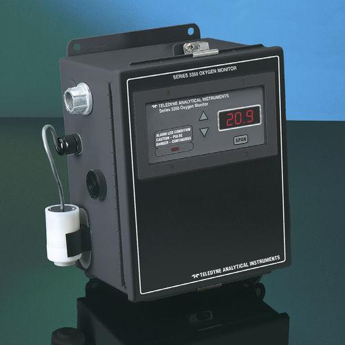 oxygen detector / gas / fail-safe / industrial