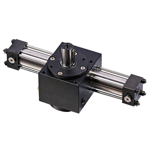 rotary actuator / hydraulic / compact