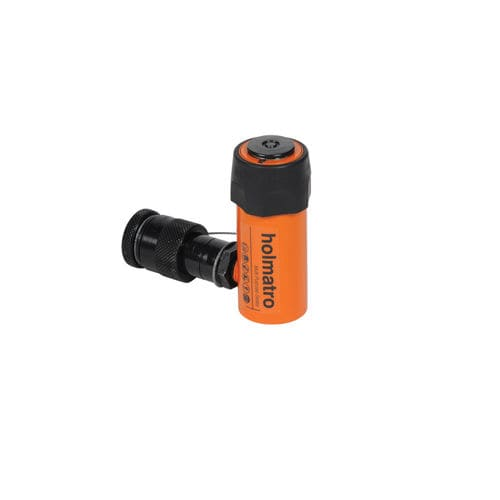 hydraulic cylinder / single-acting / steel