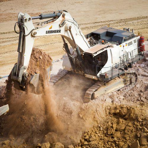 large excavator - Liebherr Excavators