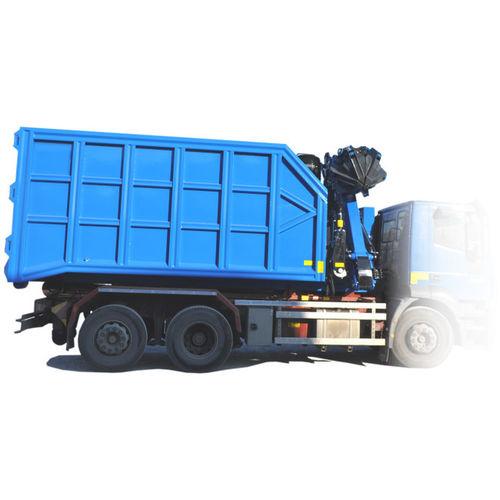 truck-mounted crane / folding / hydraulic / lifting