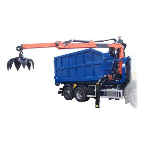 truck-mounted crane / telescopic / articulated / hydraulic
